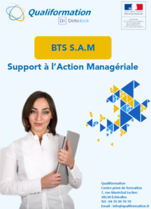 BTS Support à l'Action Managériale en alternance (bts SAM)